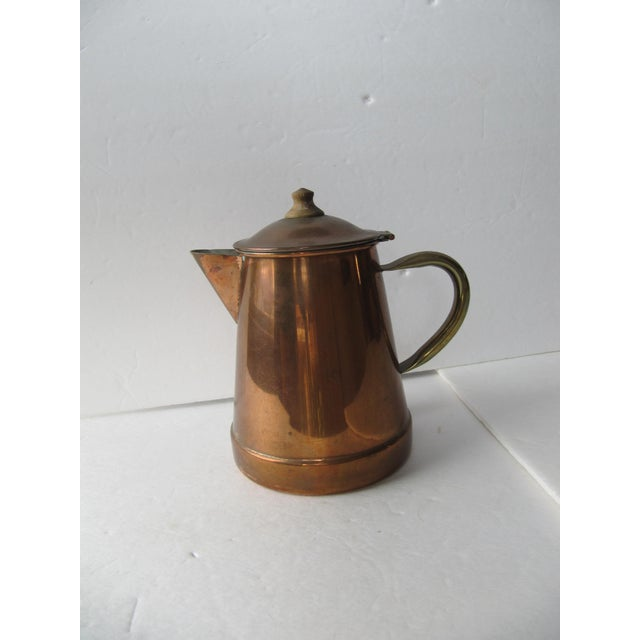 Vintage Copper & Brass Coffee Pot - Image 2 of 7