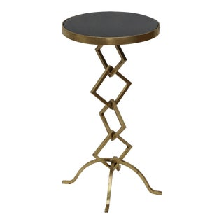 Granite Top Side Table
