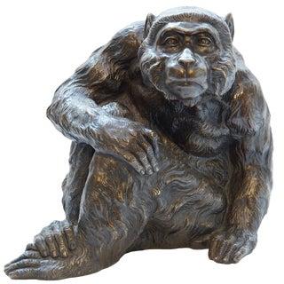Japanese Bronze Ape