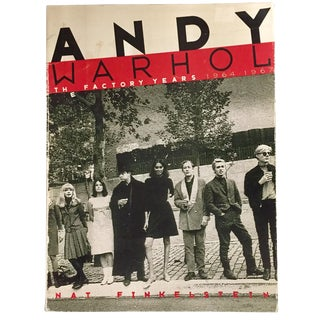 """Andy Warhol: the Factory Years"" Book"