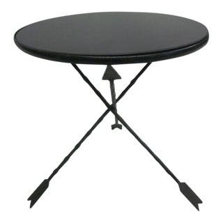 Modern Neoclassical Side Table Attributed to Jansen