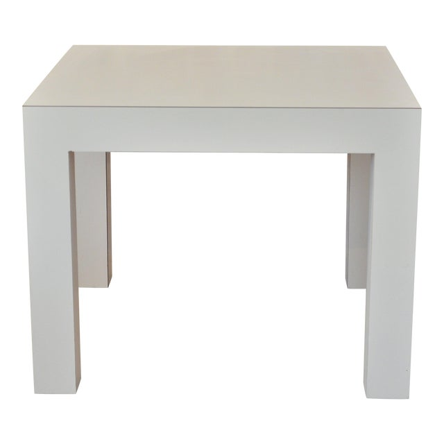Image of Vintage Parsons Side Table