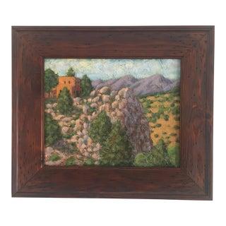 Santa Fe Oil Painting