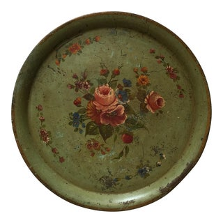 Vintage French Toleware Tray