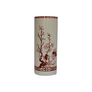 Coalport Bone China Coral Indian Tree Vase