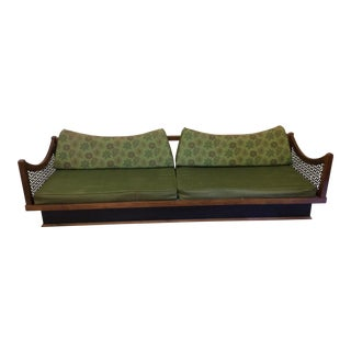 Walnut Moroccan Style Lounge Sofa