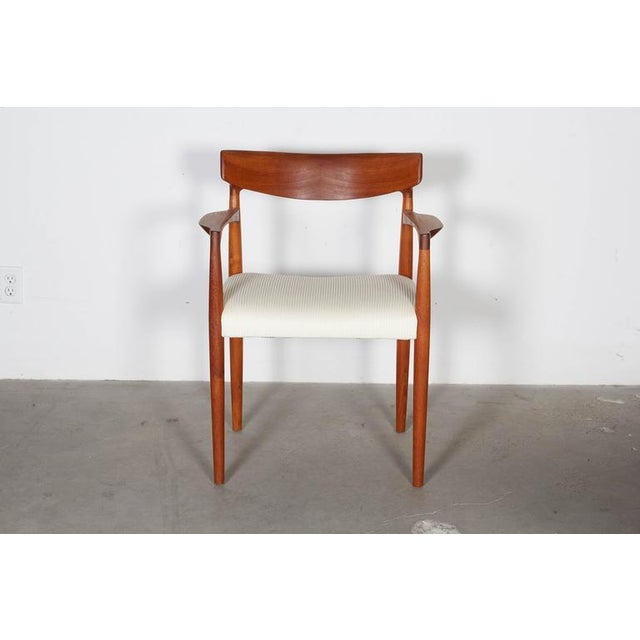Danish Modern Arm Chairs by Knud Faerch, Pair - Image 8 of 8
