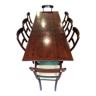Traditional Mahogany Table & Chairs