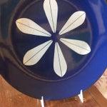 Image of Catheineholm Blue Lotus Plates - Pair