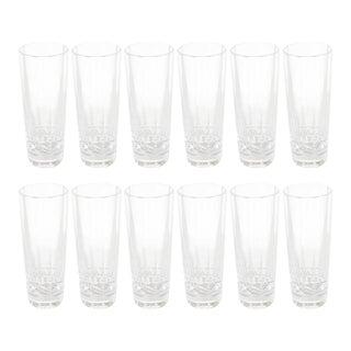 Set of Ten Iskender Series Vodka or Shot Glasses by Hermes in Original Packaging