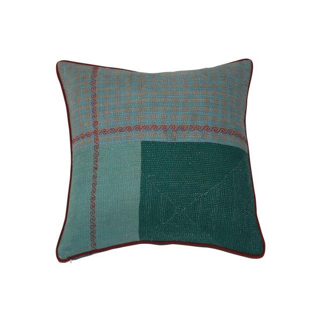 Image of Kantha Pillow