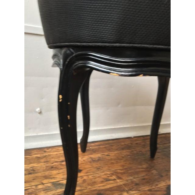 Noir Tufted Swiveling Vanity Chair - Image 6 of 6