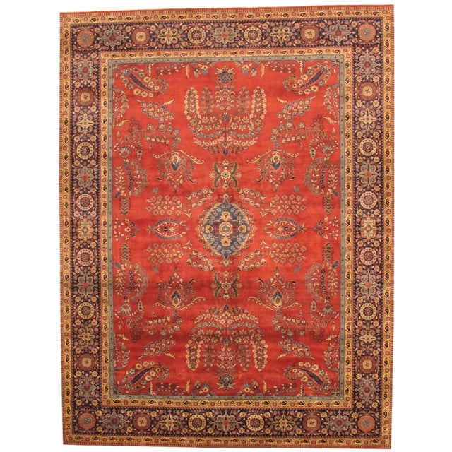 "Pasargad Sarouk Collection Rug - 8'1"" X 5'11"" - Image 1 of 3"