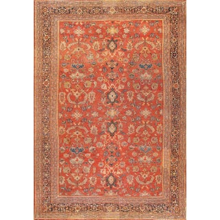 """Antique Persian Sultanabad Rug- 13'4"""" x 19'4"""""""