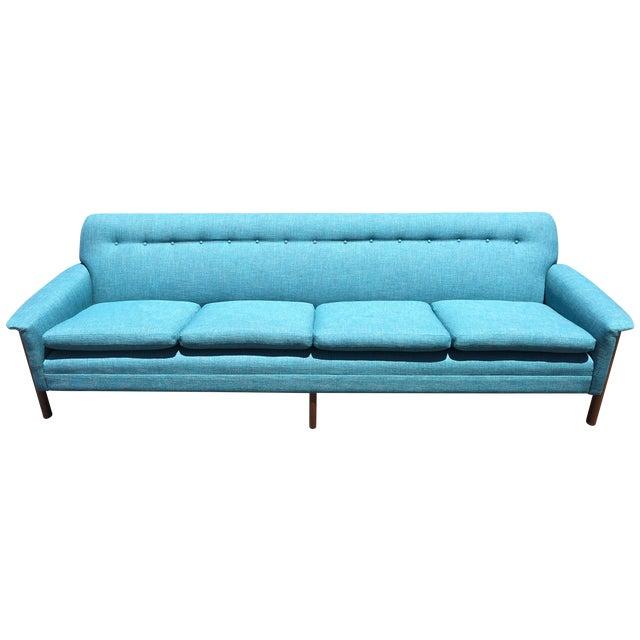Vintage Danish Modern Sofa 113