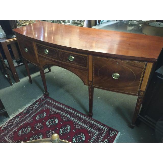 Baker Furniture Sideboard Colonial Williamsburg - Image 3 of 10