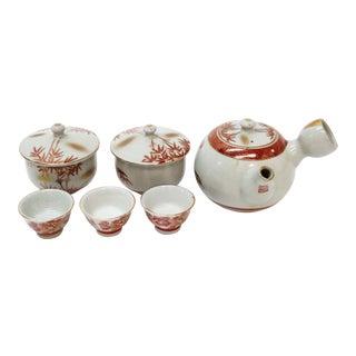 Vintage Asian Tea Serveware - Set of 6