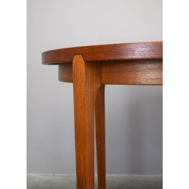 Heltborg Møbler Danish Teak Expandable Dining Table - Image 3 of 11