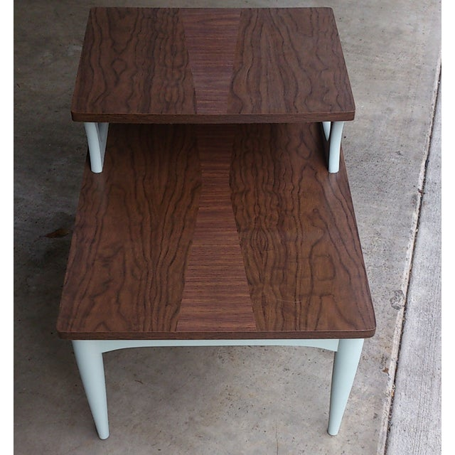 Mid-Century Two Level End Table - Image 5 of 7