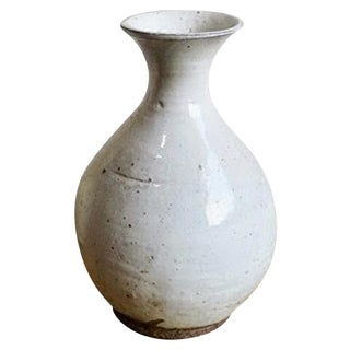 White Ceramic Pottery Vase
