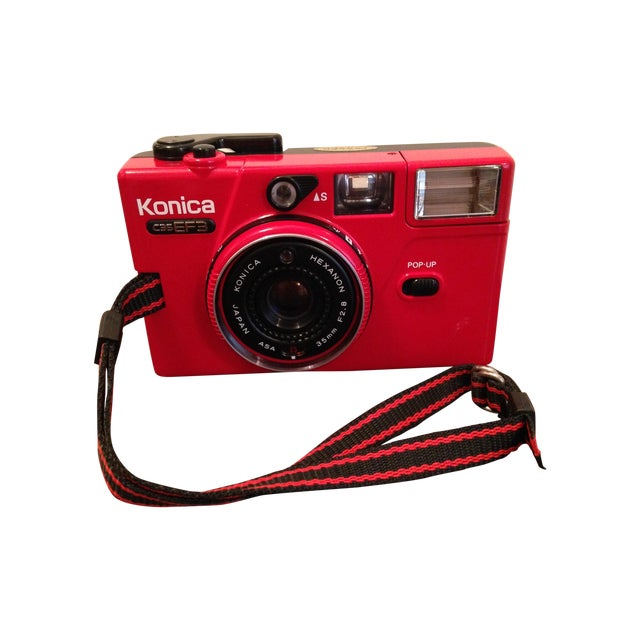 Image of 1981 Konica C35 MM Camera