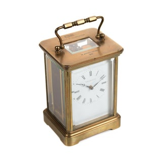 Tiffany & Co. Vintage Brass Carriage Clock