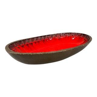 Mid-Century Belgian Ceramic Platter