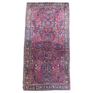 Antique Persian Sarouk Rug - 2′4″ × 4′