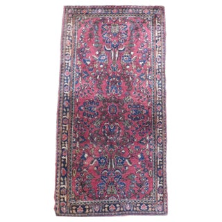 Antique Persian Sarouk Rug - 2′4″ × 4′