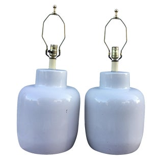 1960s Haager Table Lamps - A Pair