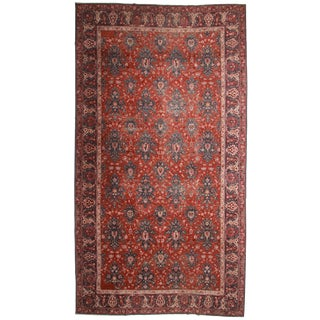 RugsinDallas Antique Turkish Sparta Rug - 11′9″ × 21′4″