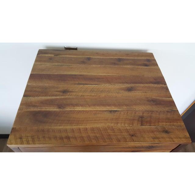 Image of West Elm Acacia Wood Dresser