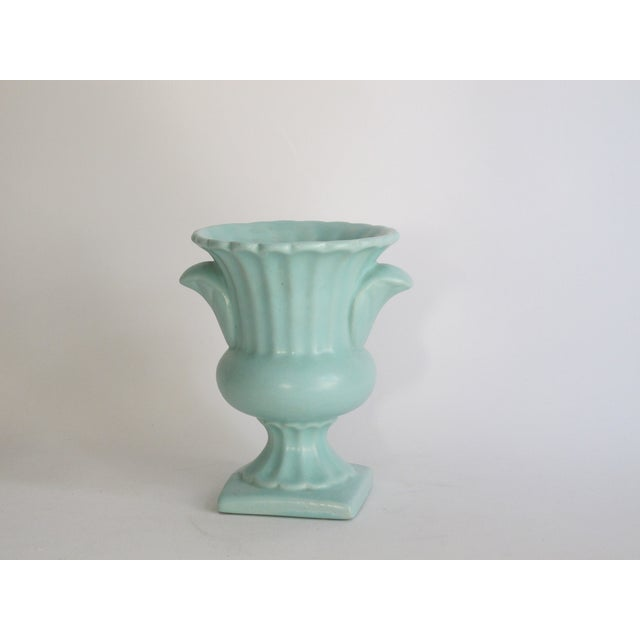 Image of Royal Haeger Mint Pottery Urn
