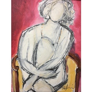 'Seated Woman I' Original Painting