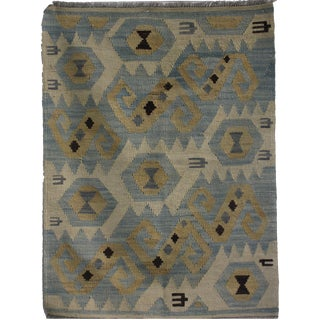 "Aara Rugs Inc. Hand Knotted Kilim - 4'1"" X 2'10"""