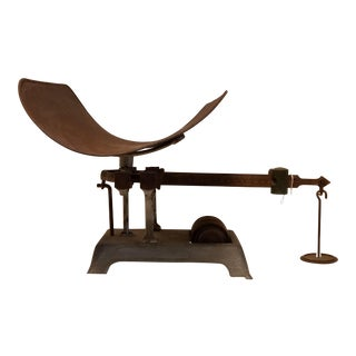 Chicago Scale Co. Antique Grocery Scale