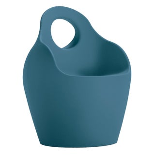 Domitalia Blue Bucket Shaped Chair