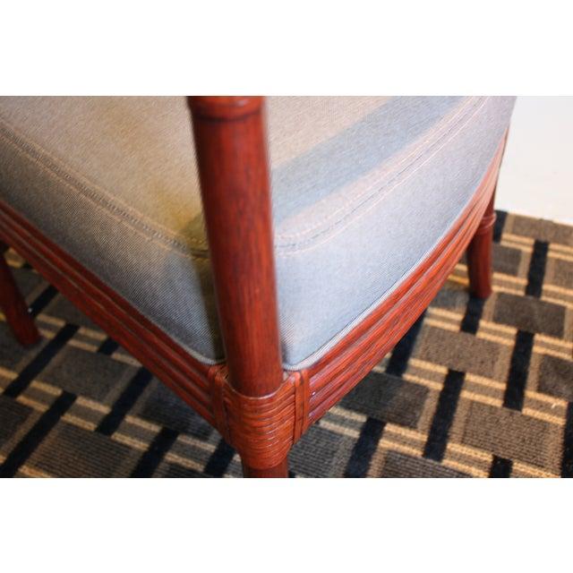 McGuire Orlando Diaz-Azcuy Salon Dining Arm Chair - Image 7 of 8