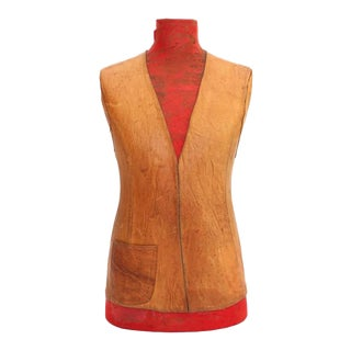 Highly Decorative Leather Torso