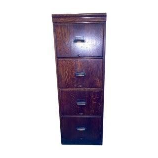 Early 1900s Oak Lawyer's Filing Cabinet