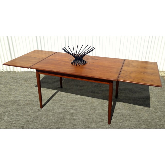 Image of Danish Modern Teak Dining Table