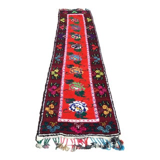 Vintage Turkish Runner Rug - 2′11″ × 11′10″