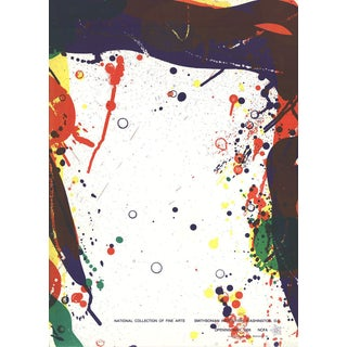 Sam Francis, National Collection of Fine Arts, 1968 Mourlot Lithograph