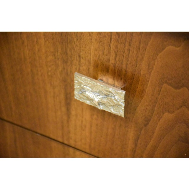Brutalist Walnut Armoire - Image 10 of 11