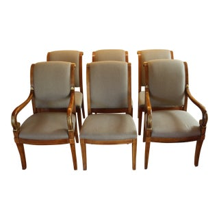 Henredon Beige Dining Chairs - Set of 6