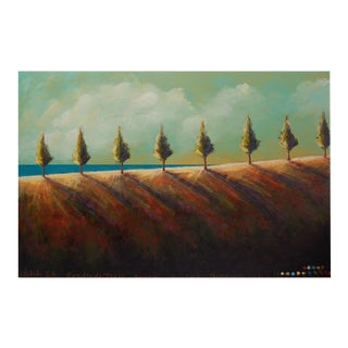 "Tjasa Owen ""Horizon Overlook Painting"