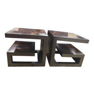 Century Furniture Fushun Bunching End Tables - A Pair