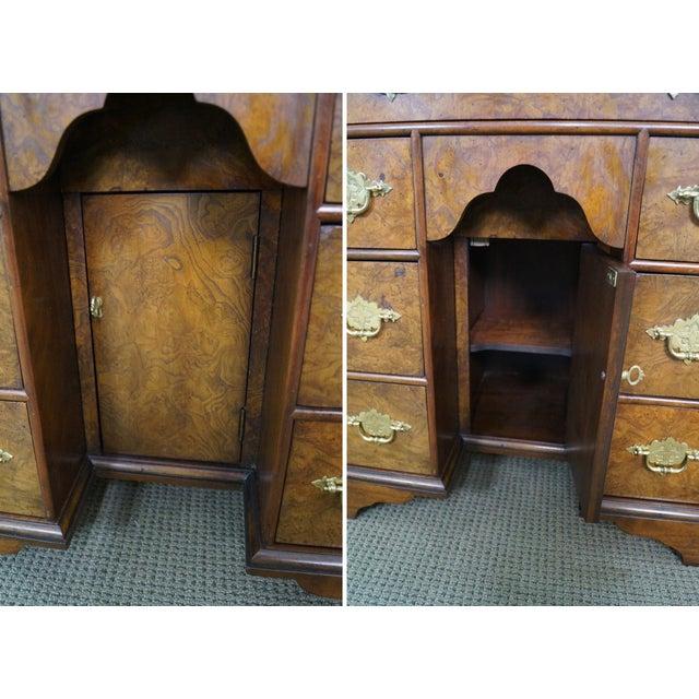 Baker George II English Style Knee Hole Desk - Image 10 of 10