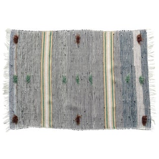 Swedish Handwoven Rug - 3' x 4'3""