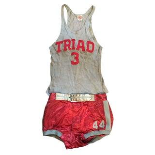 Vintage Basketball Uniform Circa 1920s-30s